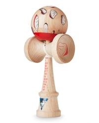 KENDAMA KROM x BEAMS O.K. - RED - MAPLE1