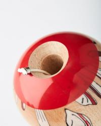 KENDAMA KROM x BEAMS O.K. - RED - MAPLE2