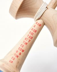 KENDAMA KROM x BEAMS O.K. - RED - MAPLE8