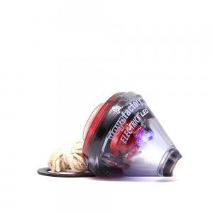 SPINTOP YOYOFACTORY ELEC-TRICK LED RED/BLACK