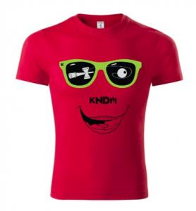 TRICOU SMILEY ROSU