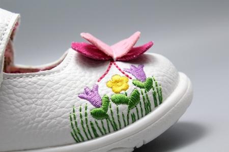 Pantofi alb ivoire cu bareta Happy Bee 19-24EU fluturas5