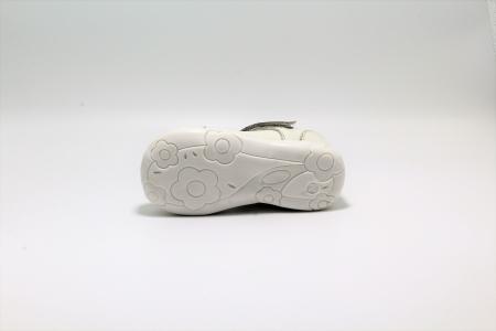 Pantofi fete albi din piele, Happy Bee ShineyStar, marimi 19-24 EU4