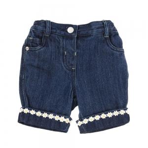 Pantaloni scurti fete, brand George, denim, 2-5 ani