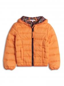 Jacheta usoara portocalie 2-8 ani fetite primavara/toamna0