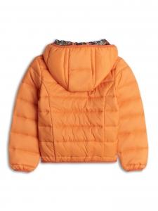 Jacheta usoara portocalie 2-8 ani fetite primavara/toamna1