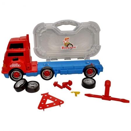 Camion cu trusa de scule auto