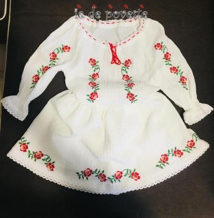 Costumas Trandafiri Jucausi- rosu1