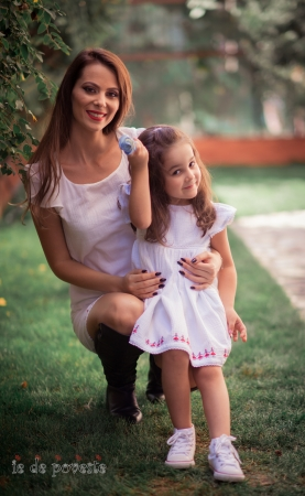 Set rochite mama fiica- Hora fetelor2