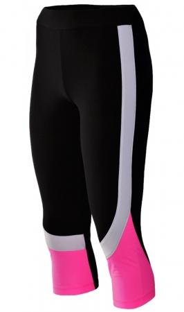 Colant Damă LAZO TECH, Negru cu Roz Neon