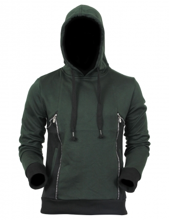 Hanorac ANTONIO HOODED, Verde