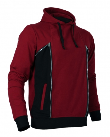 Hanorac ANTONIO HOODED, Bordeaux