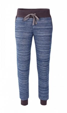 Pantalon Damă LAZO EASY & SPORT, Albastru cu Negru