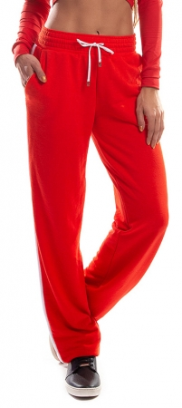 Pantalon Damă MISS LAZO IN RED