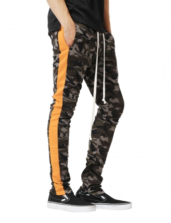 Pantaloni Bărbătești LAZO CAMOUFLAGE TRACK PANTS, Orange