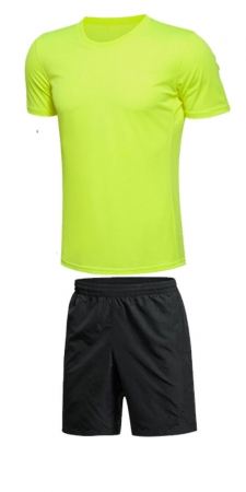 Set Antrenament Lazo Summer Cup, Galben Fluorescent