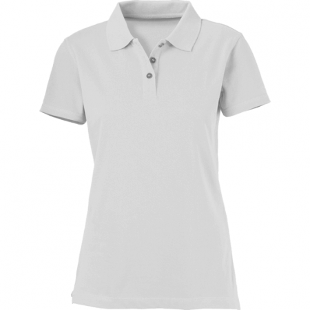 Tricou LADIES POLO RAW Alb