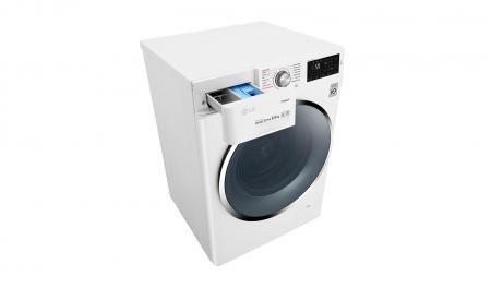 Masina de spalat rufe LG F4J6EY2W, 8.5 kg, 1400 RPM, Clasa A+++
