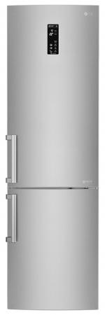 Combina frigorifica LG GBB60NSYFE, 343 l, Full No Frost, Clasa A+++, H 200 cm