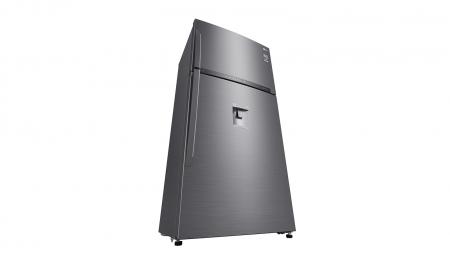 Frigider 2 usi LG GTF916PZPZD, 592 l, Clasa A++, H 184 cm