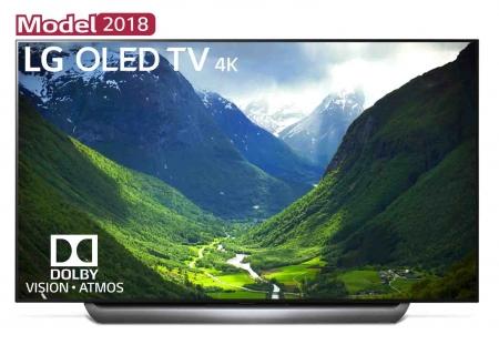 Televizor OLED Smart LG, 139 cm, OLED55C8PLA