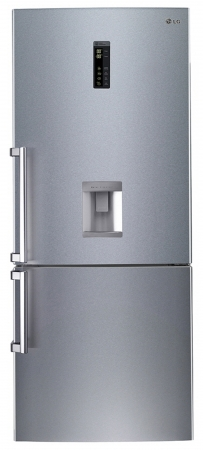 Combina frigorifica LG GBF548NSDZB, 440 l, NoFrost, A++