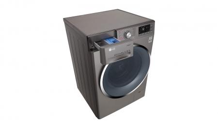 Masina de spalat rufe LG F4J7VY2S, 9 kg, Clasa A+++, Argintiu4