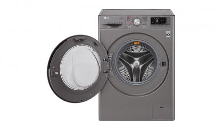 Masina de spalat rufe LG F4J7VY2S, 9 kg, Clasa A+++, Argintiu1
