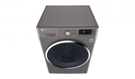 Masina de spalat rufe LG F4J7VY2S, 9 kg, Clasa A+++, Argintiu3