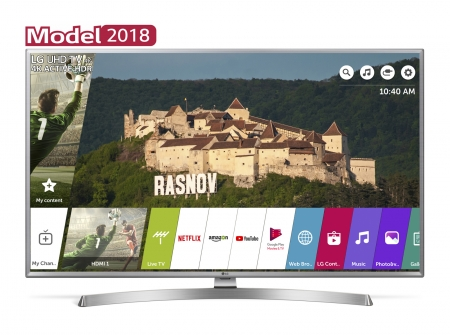 Televizor LED Smart LG, 108 cm, 43UK6950PLB, 4K Ultra HD