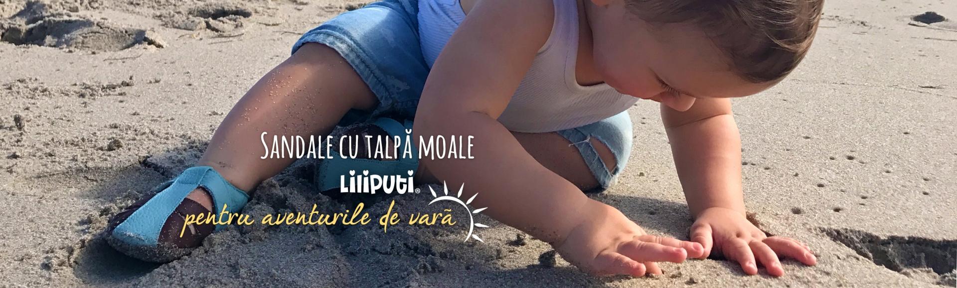 Sandale cu talpă moale Liliputi®