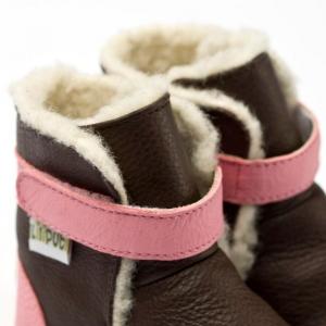 Cizme cu talpă moale Liliputi® - Alps Brown