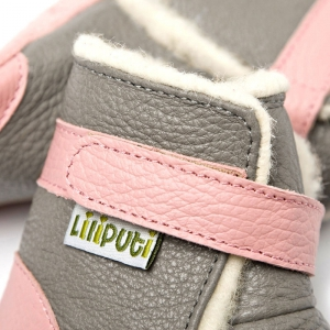 Cizme cu talpă moale Liliputi® - Alps Grey