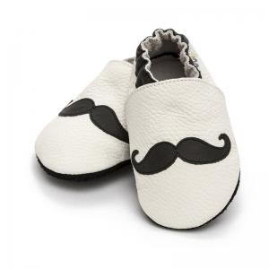 Pantofi cu talpă moale Liliputi® - Moustache