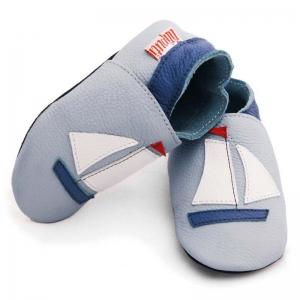 Pantofi cu talpă moale Liliputi® - Sailboat
