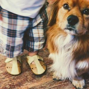 Sandale cu talpă moale Liliputi® - Peanut Butter