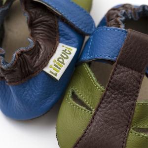 Sandale cu talpă moale Liliputi® - Earth