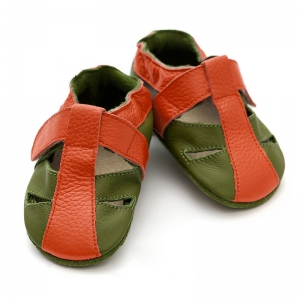 Sandale cu talpă moale Liliputi® - Atacama Green