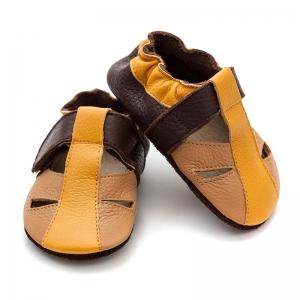 Sandale cu talpă moale Liliputi® - Sand