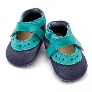 Sandale cu talpă moale Liliputi® - Sahara Blue