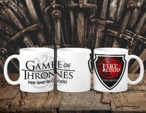 Cana Personalizata Game of Thrones - Targaryen House