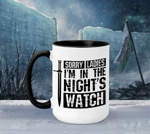 Cana Personalizata Game of Thrones - Night's Watch0