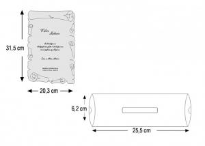 Invitatie Botez cod 24683