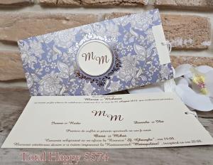 Invitatie nunta cod 5574