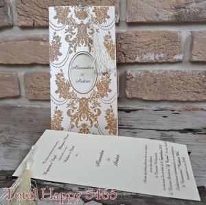 Invitatie nunta cod 5465