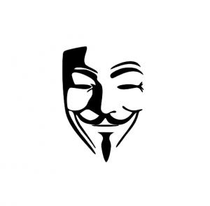 Sticker Auto - Anonymus 3