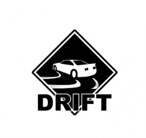 Sticker auto - Drift0