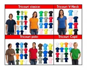 Set Tricouri Cuplu Personalizate - Te iubesc cu Nume si Poza2