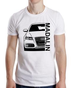 Tricou Personalizat Auto - AUDI A4 B8 cu nume sau numar