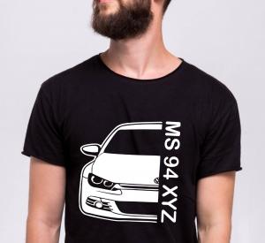 Tricou Personalizat Auto - VW Scirocco GT cu nume sau numar0
